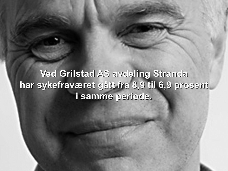 Ved Grilstad AS avdeling Stranda