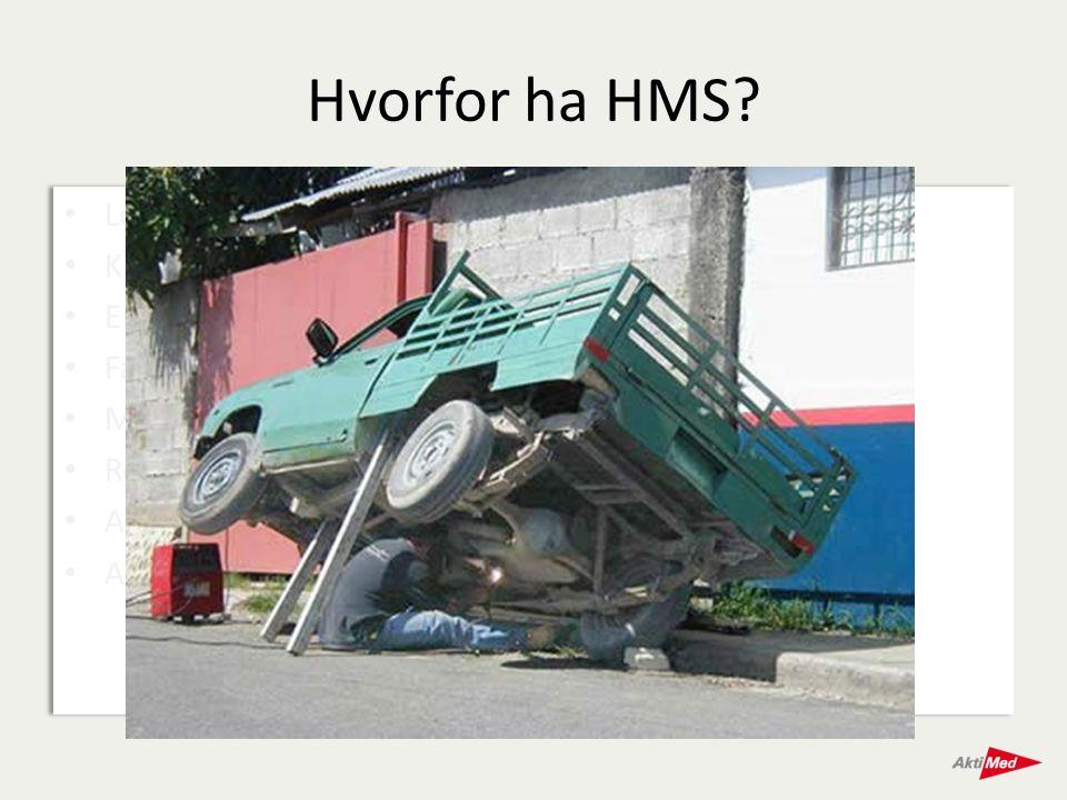 Hvorfor ha HMS Lovpålagt Kunder krever det En sikrere arbeidsplass
