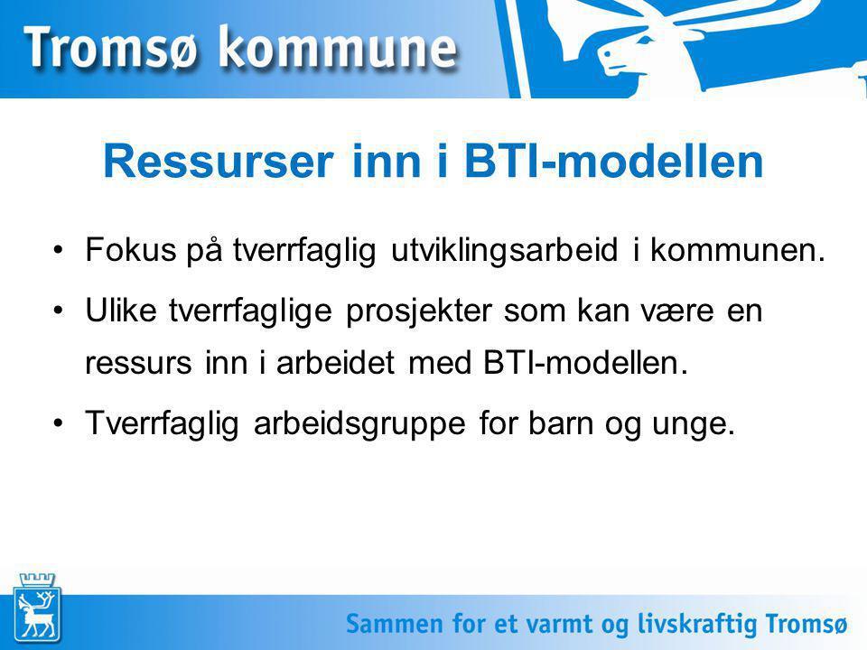 Ressurser inn i BTI-modellen