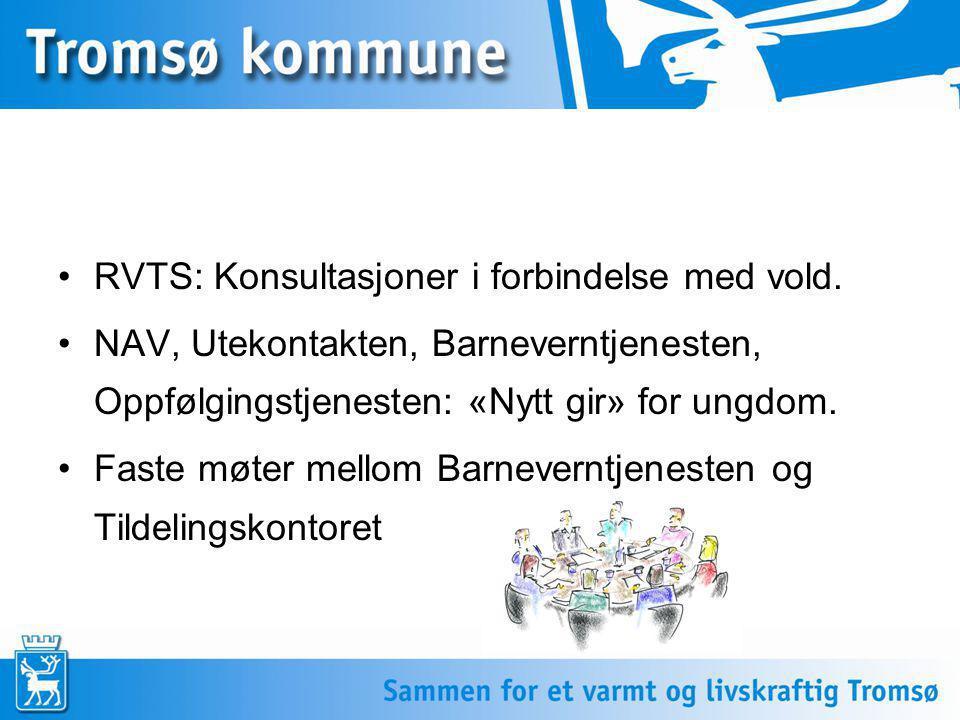 RVTS: Konsultasjoner i forbindelse med vold.