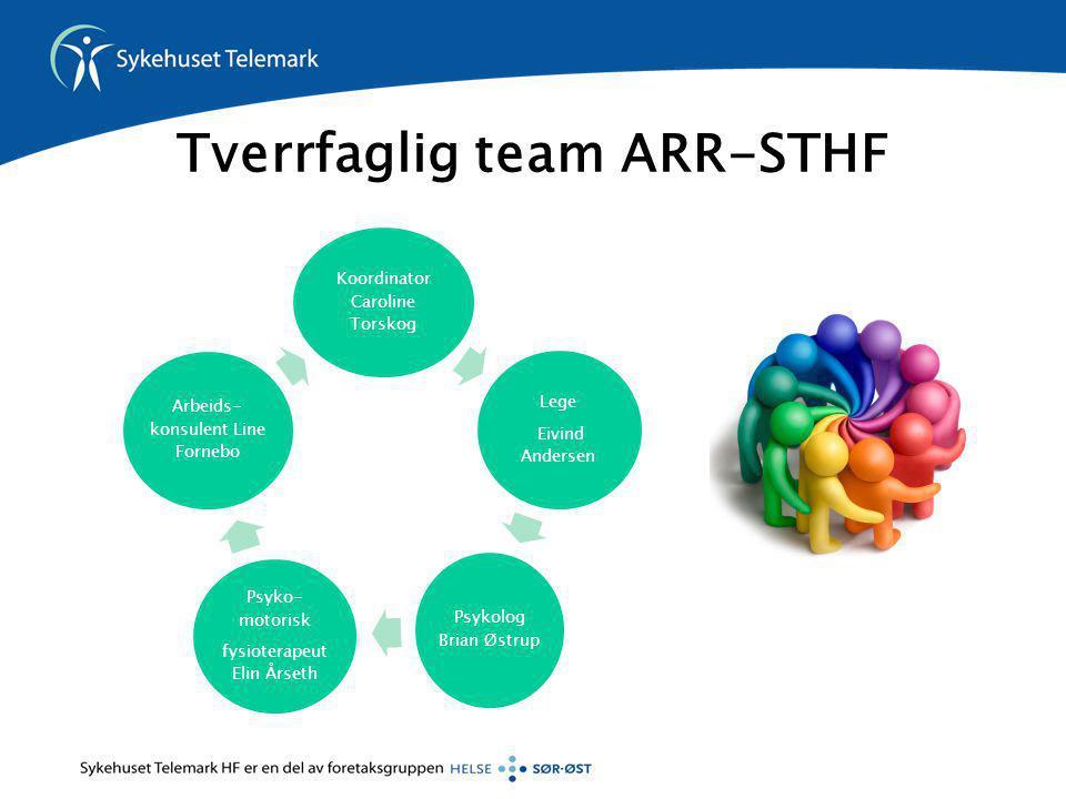 Tverrfaglig team ARR-STHF