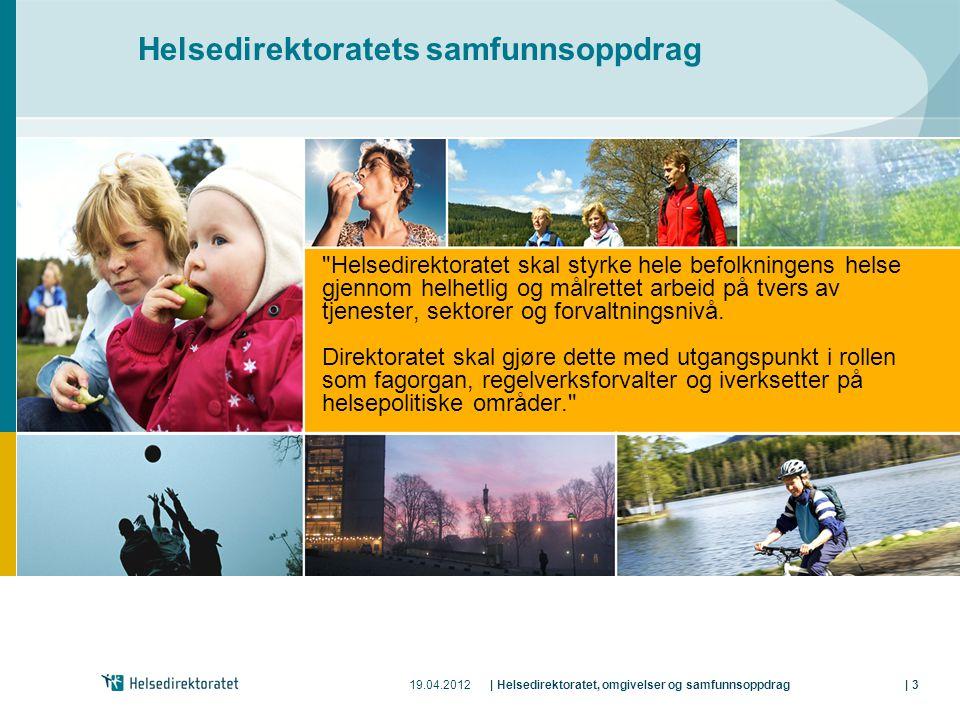 Helsedirektoratets samfunnsoppdrag