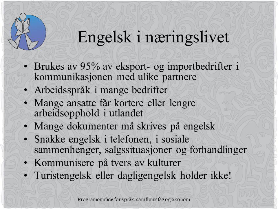 Engelsk i næringslivet