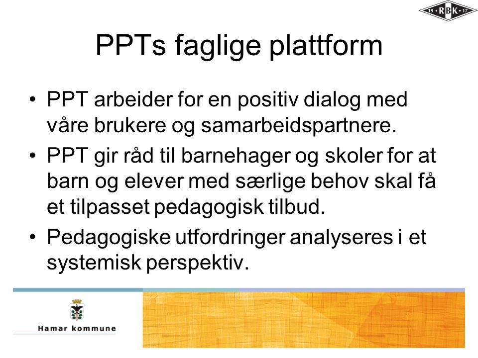 PPTs faglige plattform