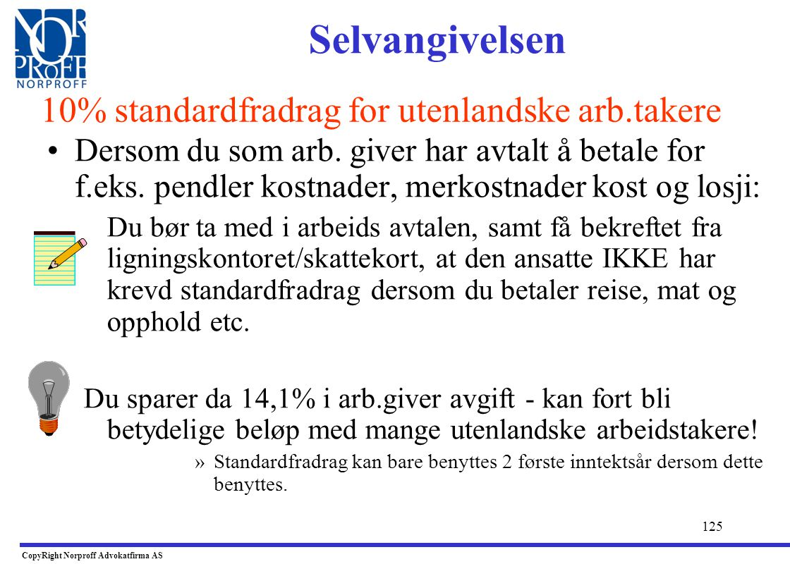 CopyRight Norproff Advokatfirma AS