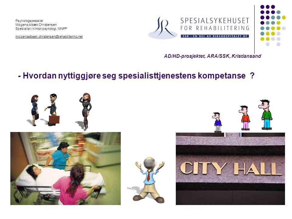 Psykologspesialist Mogens Albæk Christensen. Spesialist i klinisk psykologi, MNPF. mogensalbaek.christensen@rehabilitering.net.