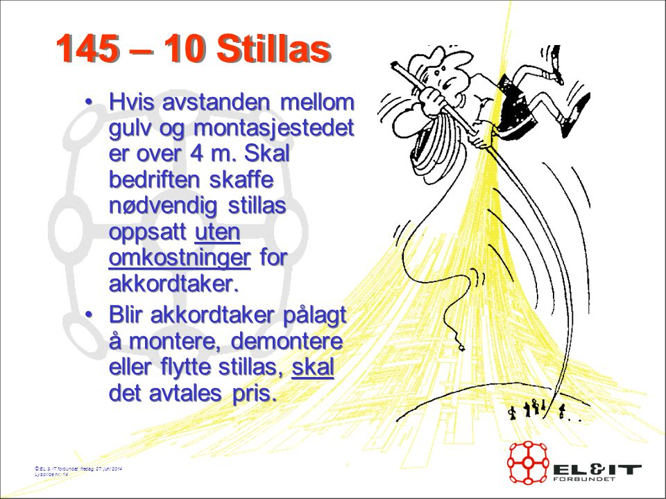145 – 10 Stillas