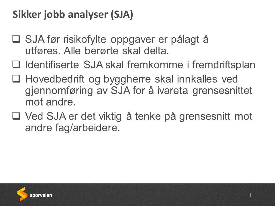 Sikker jobb analyser (SJA)