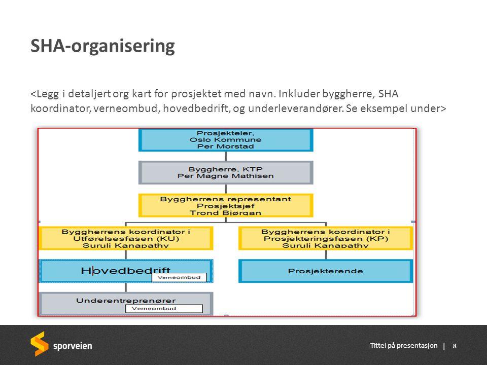 SHA-organisering