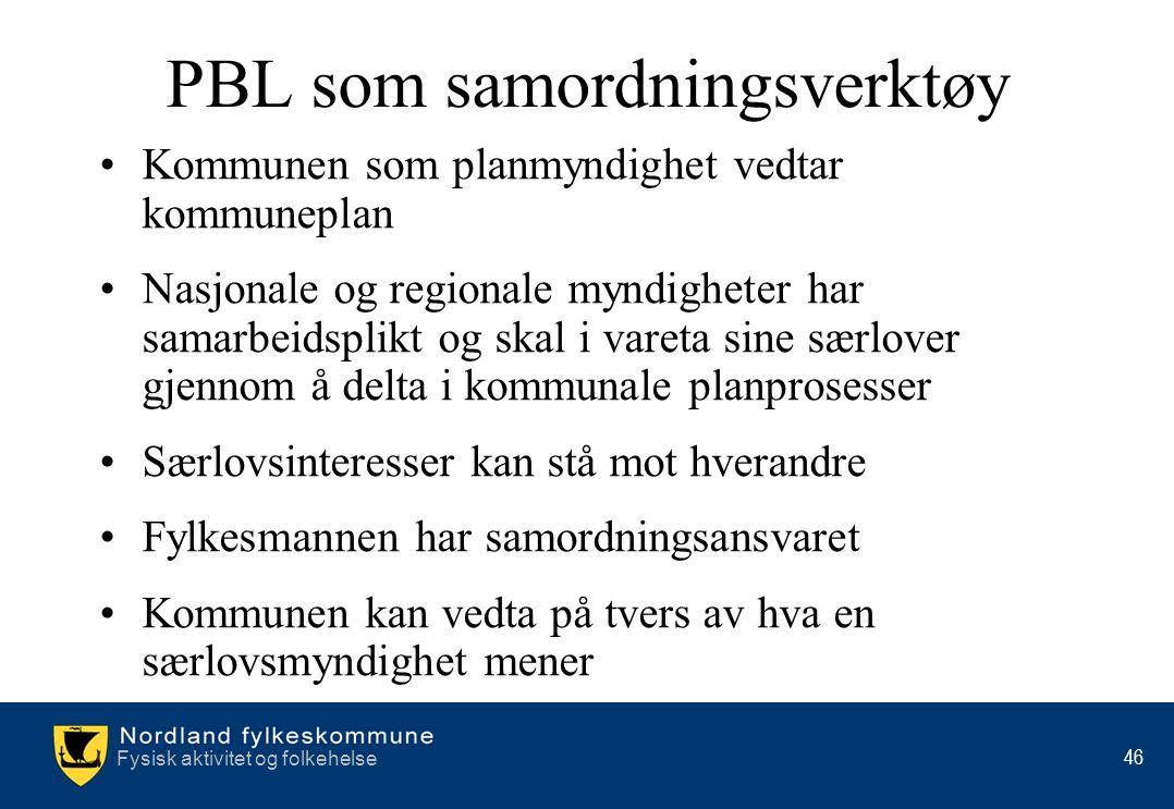 PBL som samordningsverktøy
