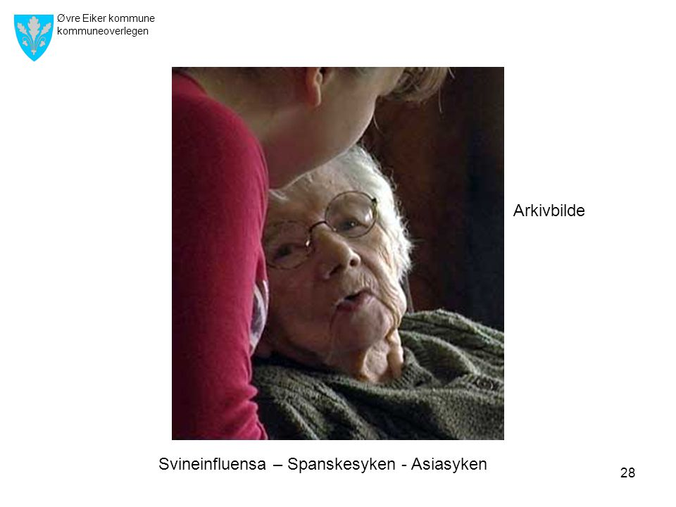 Arkivbilde Svineinfluensa – Spanskesyken - Asiasyken