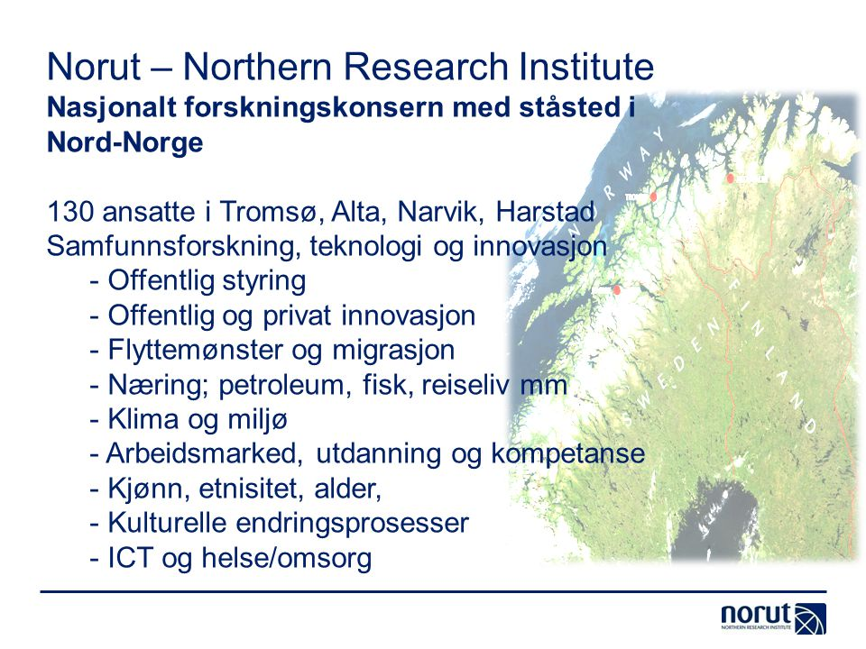 Norut – Northern Research Institute