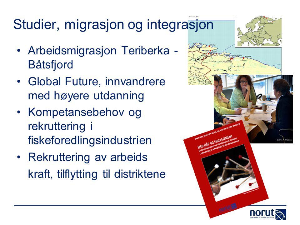 Studier, migrasjon og integrasjon