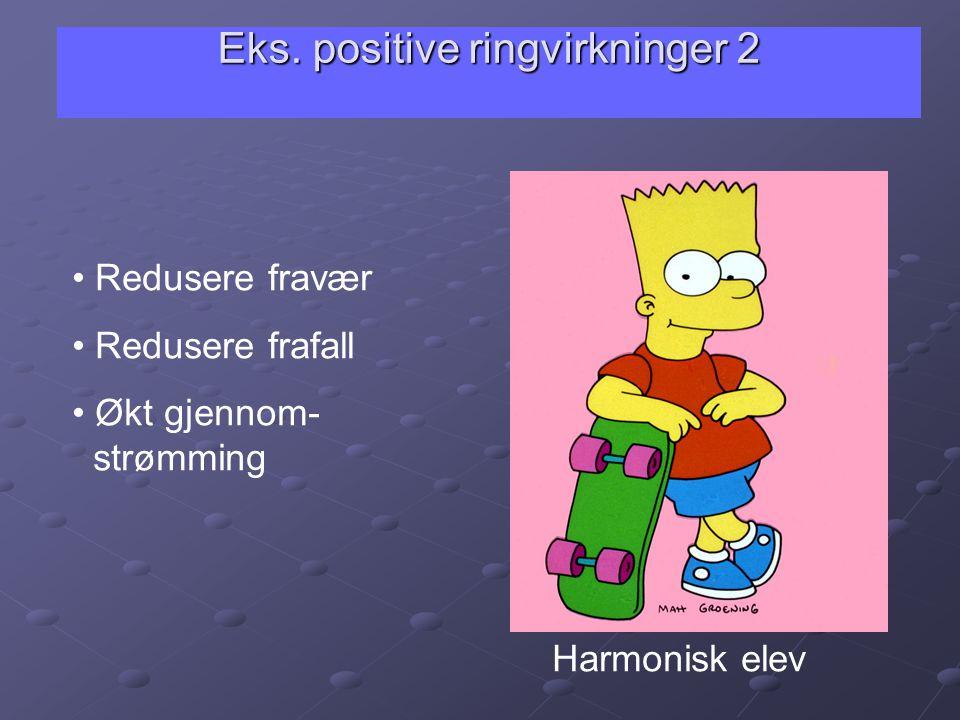 Eks. positive ringvirkninger 2