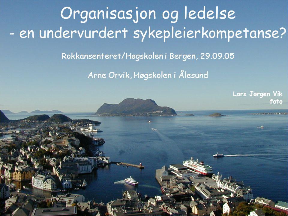 Organisasjon og ledelse