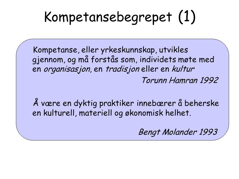 Kompetansebegrepet (1)