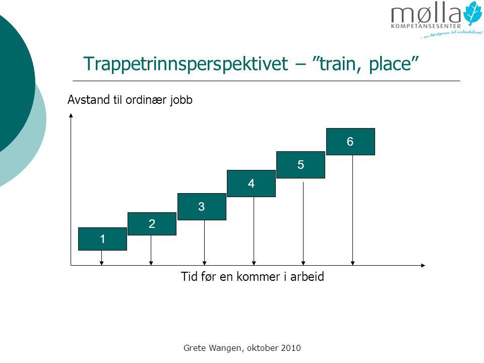 Trappetrinnsperspektivet – train, place