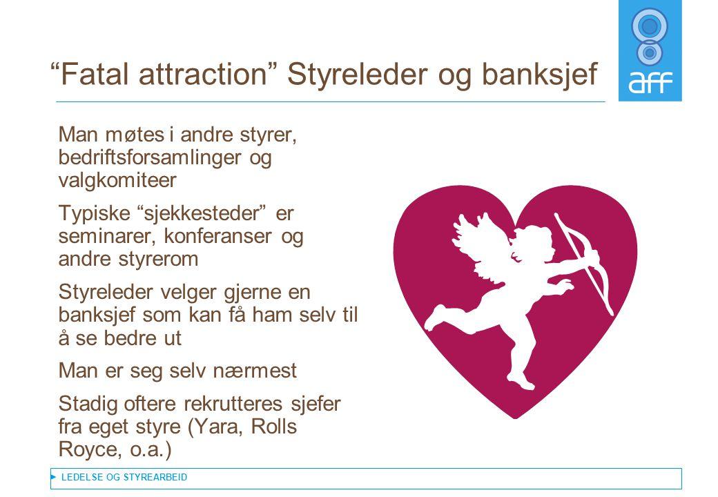 Fatal attraction Styreleder og banksjef