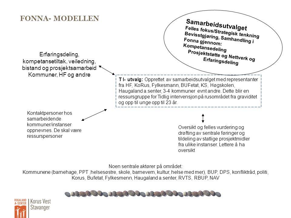 Prosjektstøtte og Nettverk og Erfaringsdeling