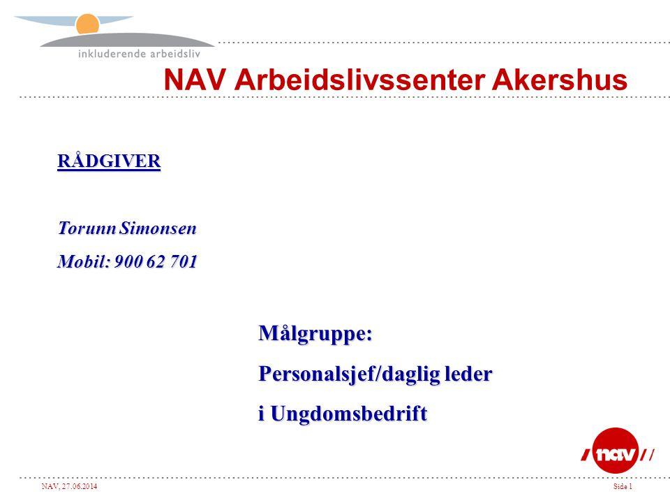 NAV Arbeidslivssenter Akershus