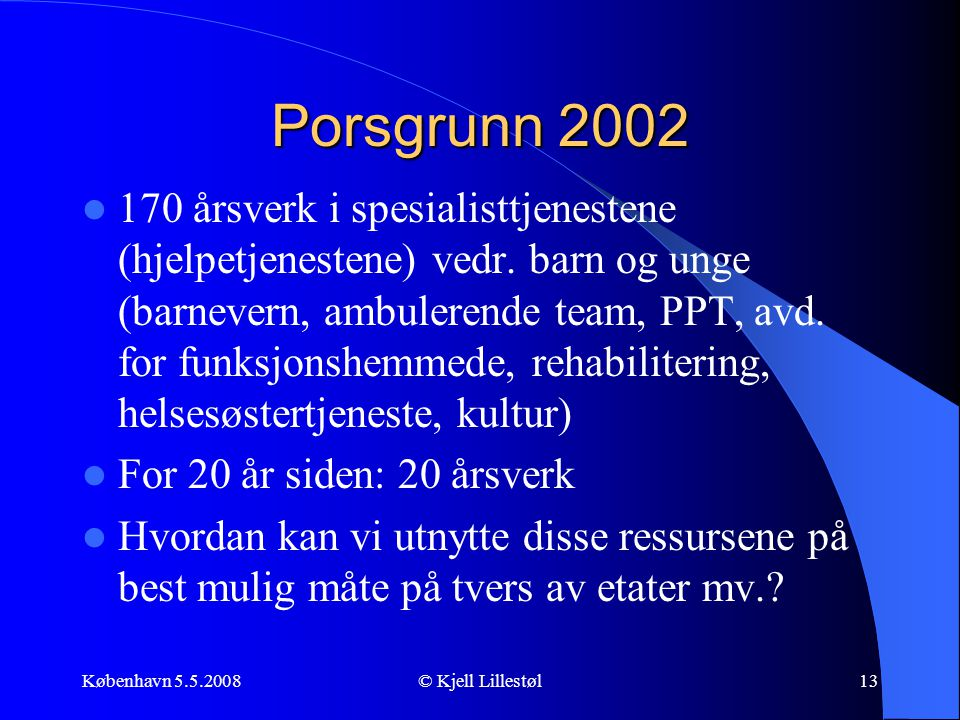 Porsgrunn 2002