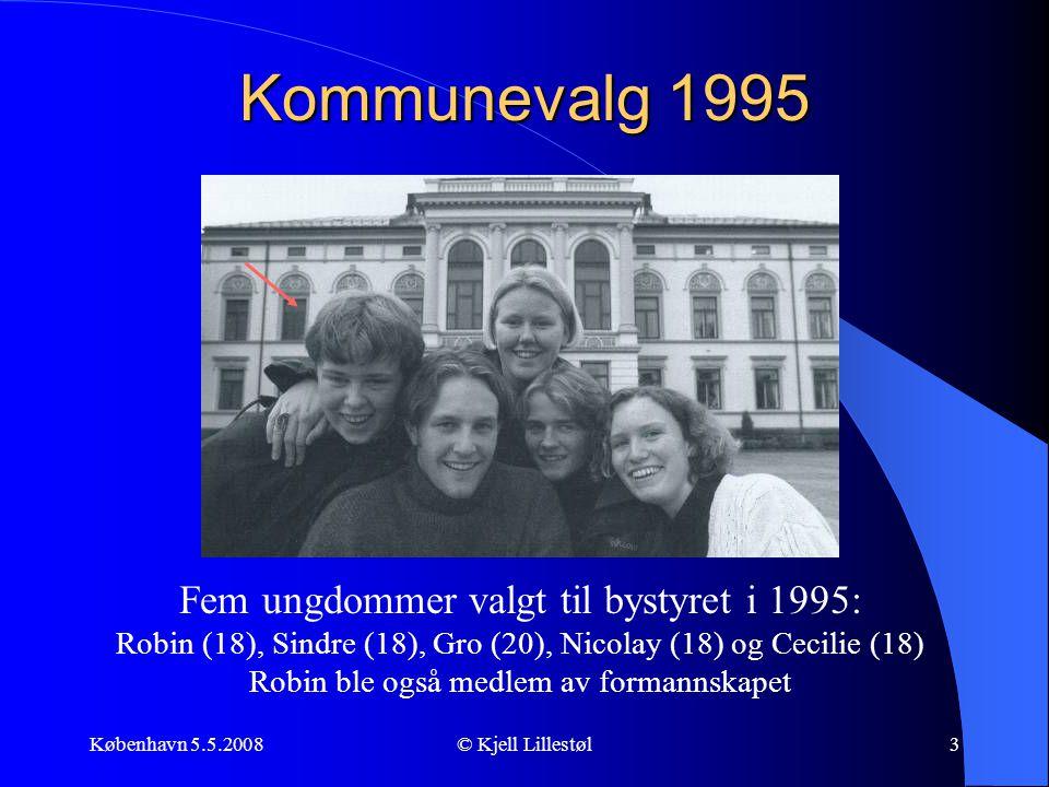 Kommunevalg 1995