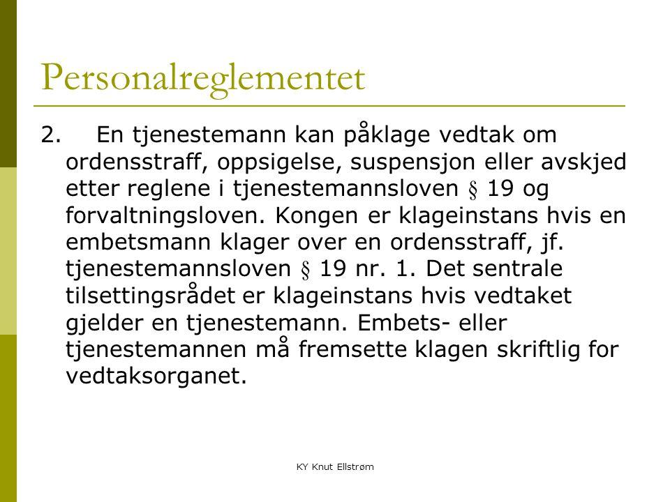 Personalreglementet