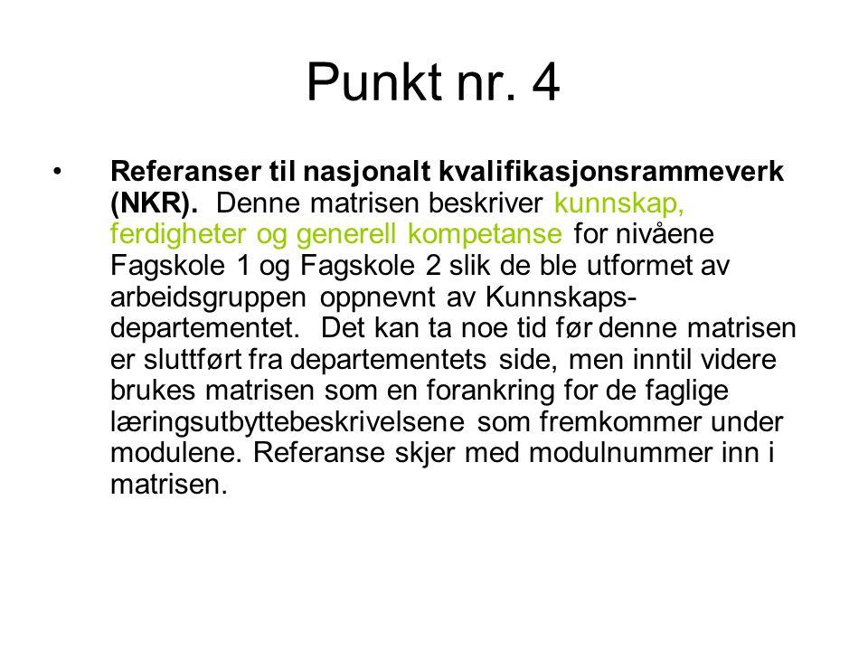 Punkt nr. 4