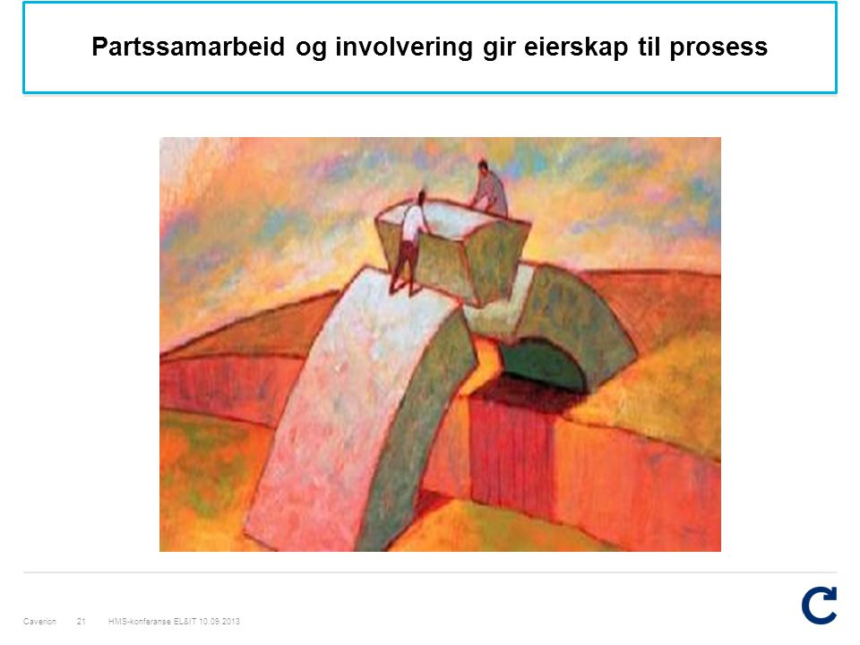 Partssamarbeid og involvering gir eierskap til prosess
