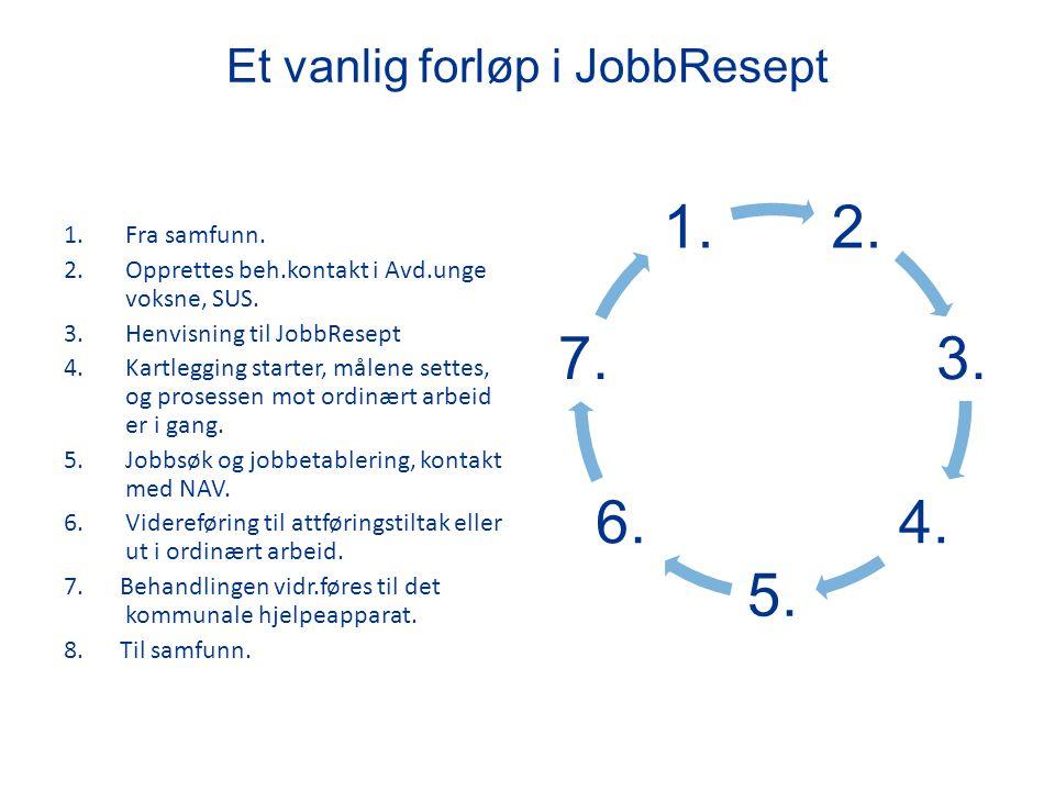 Et vanlig forløp i JobbResept