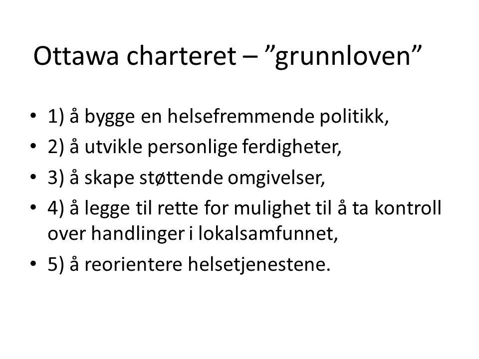 Ottawa charteret – grunnloven