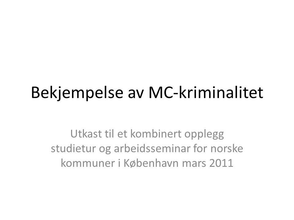Bekjempelse av MC-kriminalitet