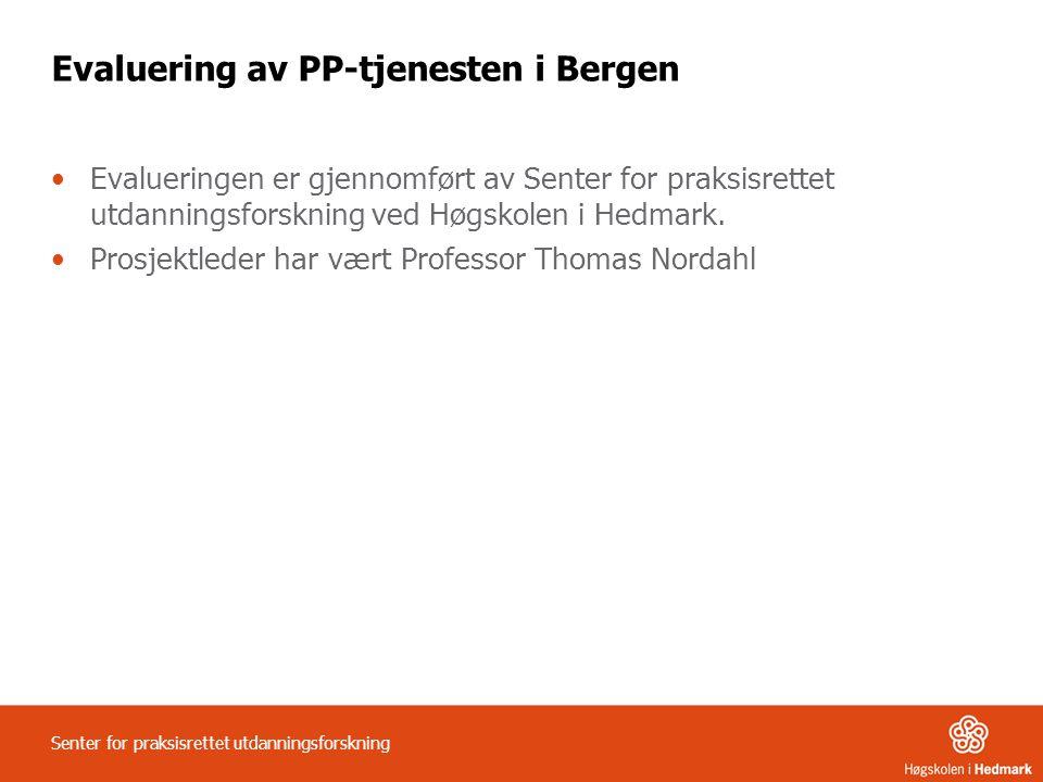 Evaluering av PP-tjenesten i Bergen