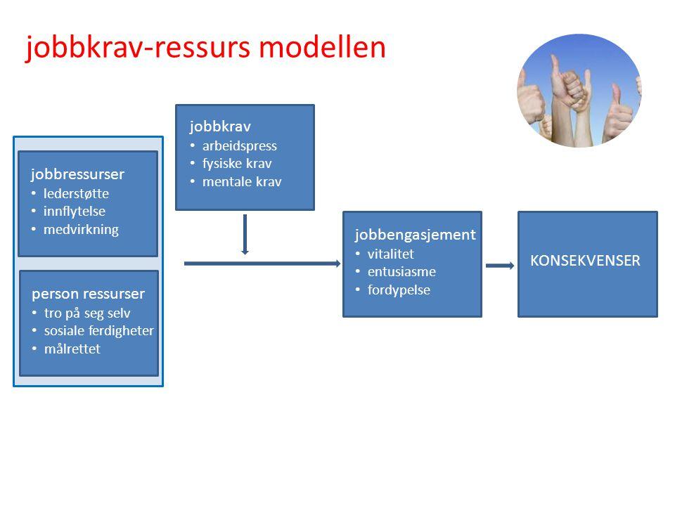 jobbkrav-ressurs modellen