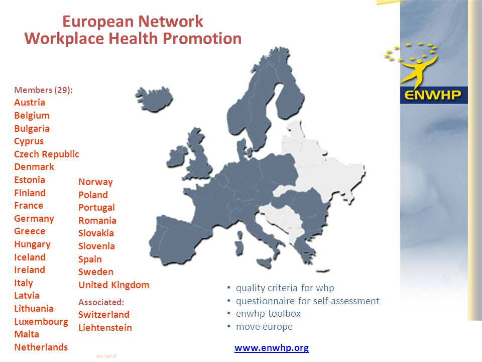 European Network Workplace Health Promotion