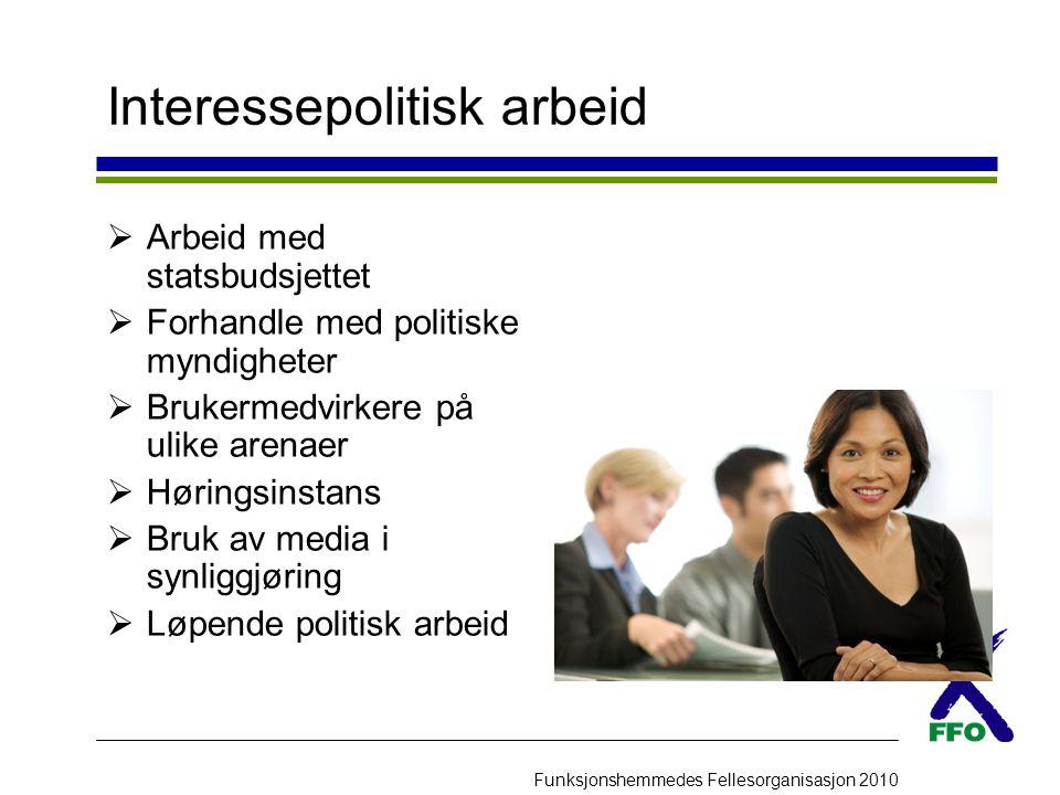 Interessepolitisk arbeid