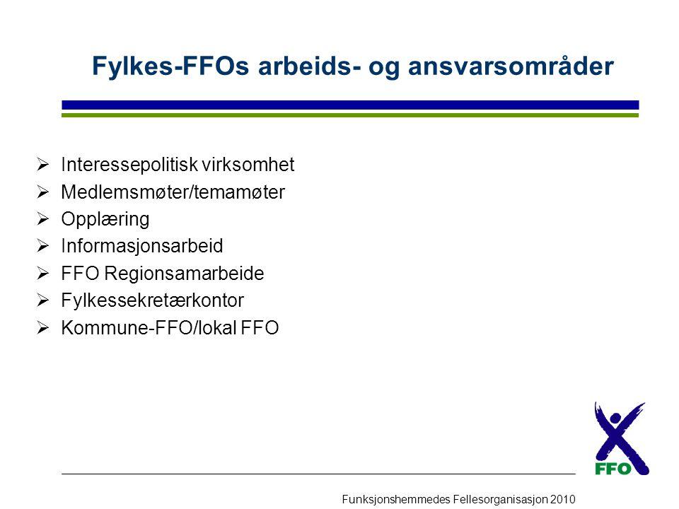 Fylkes-FFOs arbeids- og ansvarsområder