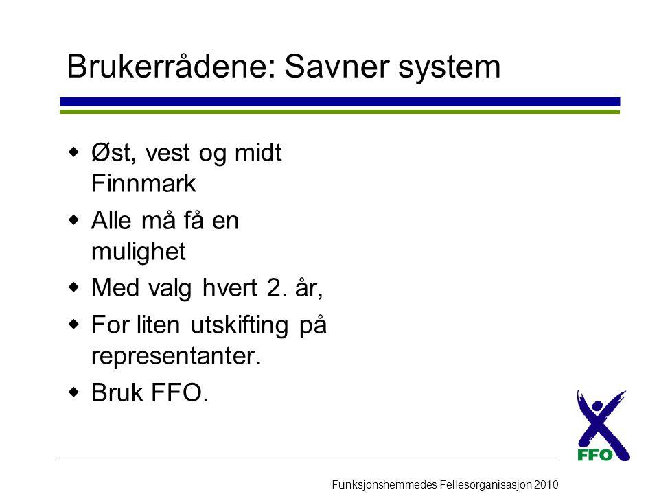 funksjonshemmedes fellesorganisasjon finnmark