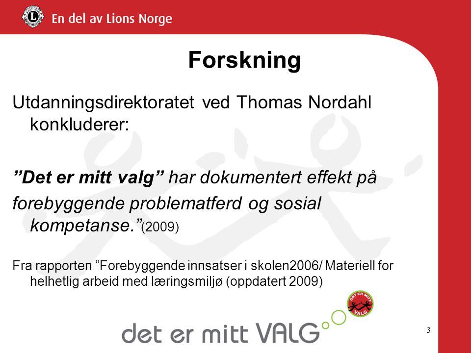 Forskning Utdanningsdirektoratet ved Thomas Nordahl konkluderer: