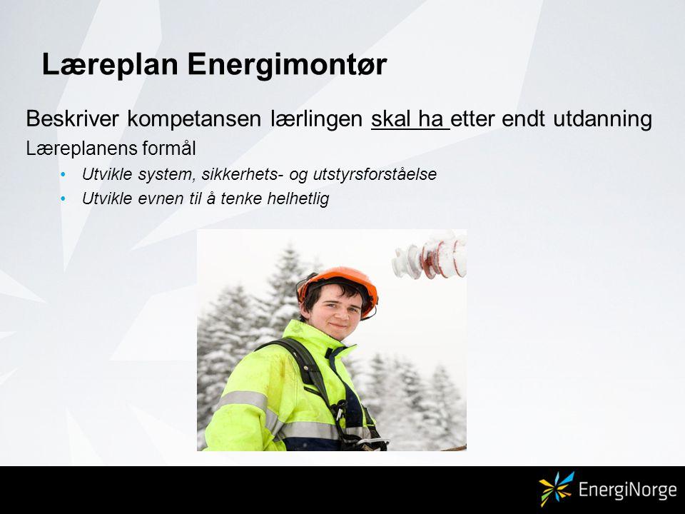 Læreplan Energimontør