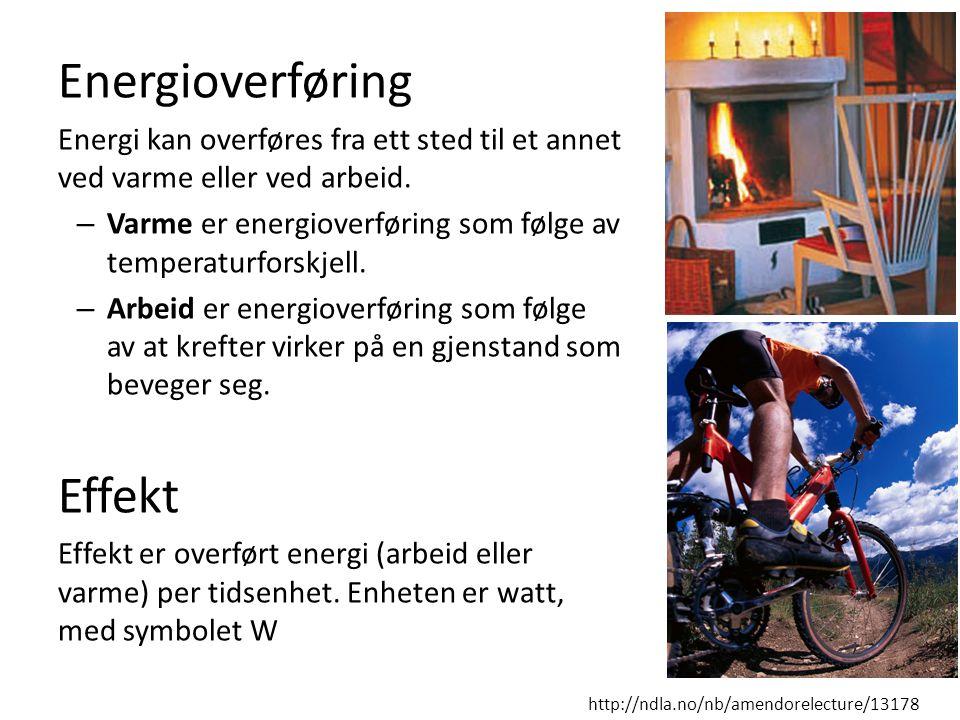 Energioverføring Effekt