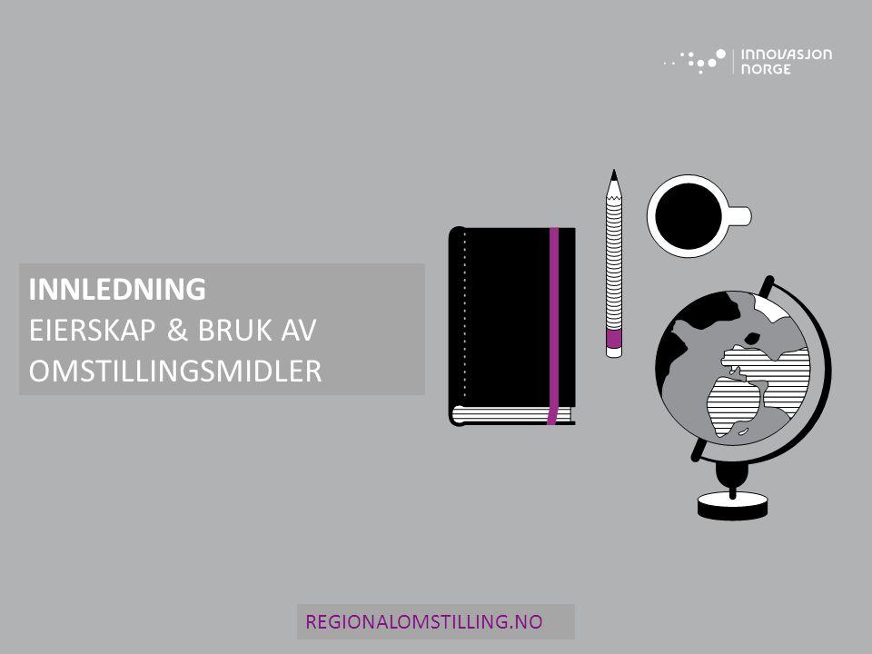 INNLEDNING EIERSKAP & BRUK AV OMSTILLINGSMIDLER