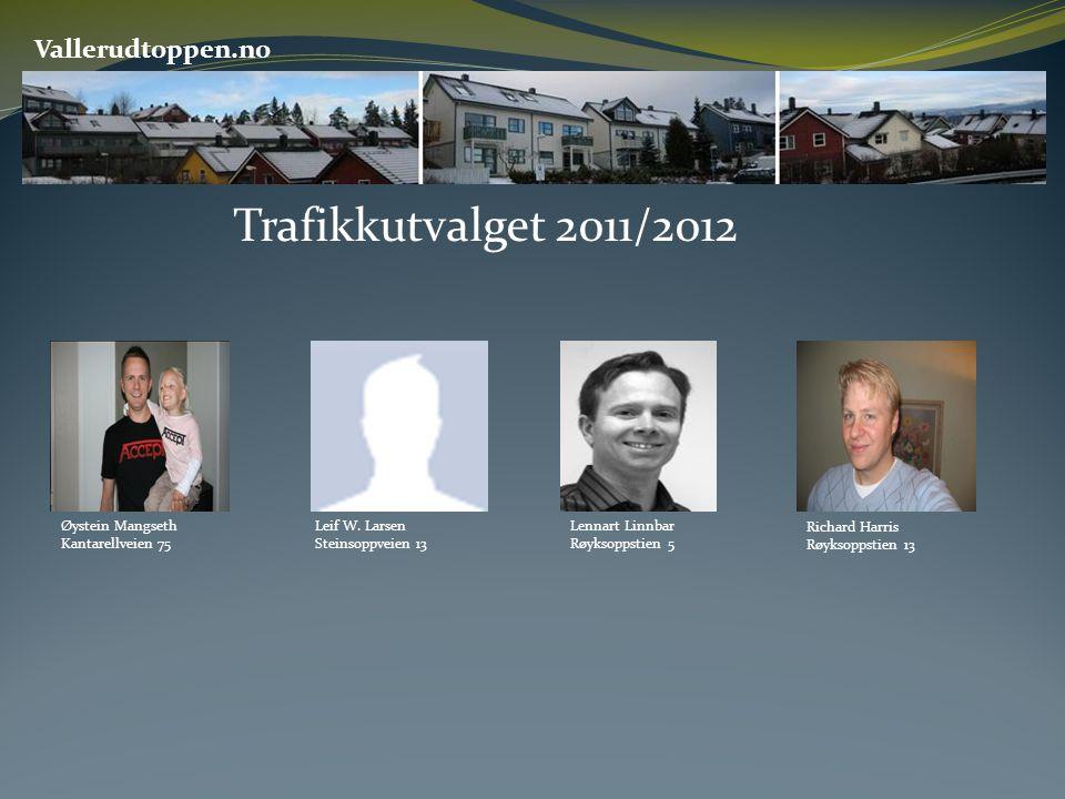 Trafikkutvalget 2011/2012 Vallerudtoppen.no Øystein Mangseth