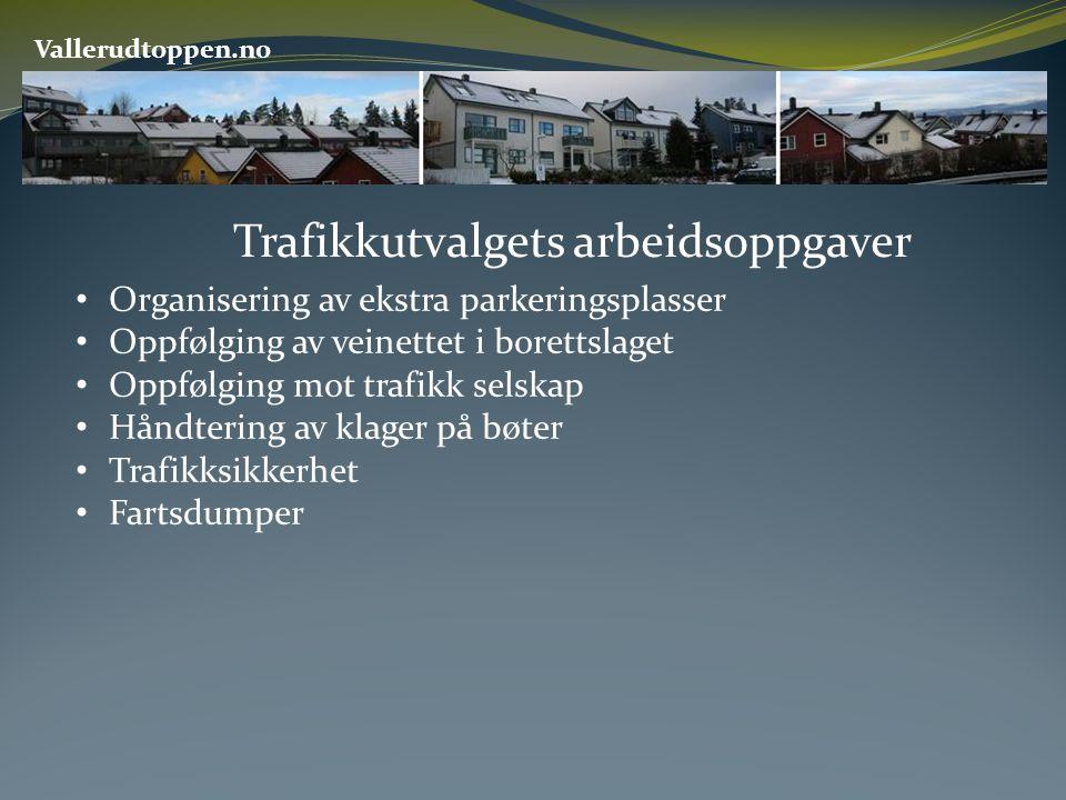 Trafikkutvalgets arbeidsoppgaver