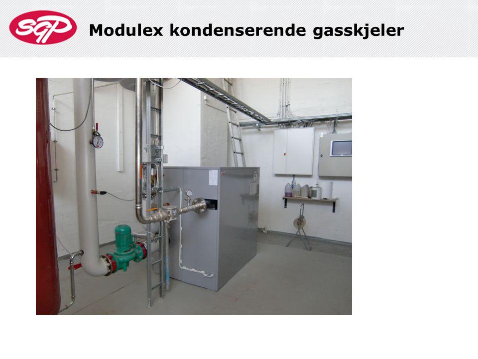 Modulex kondenserende gasskjeler