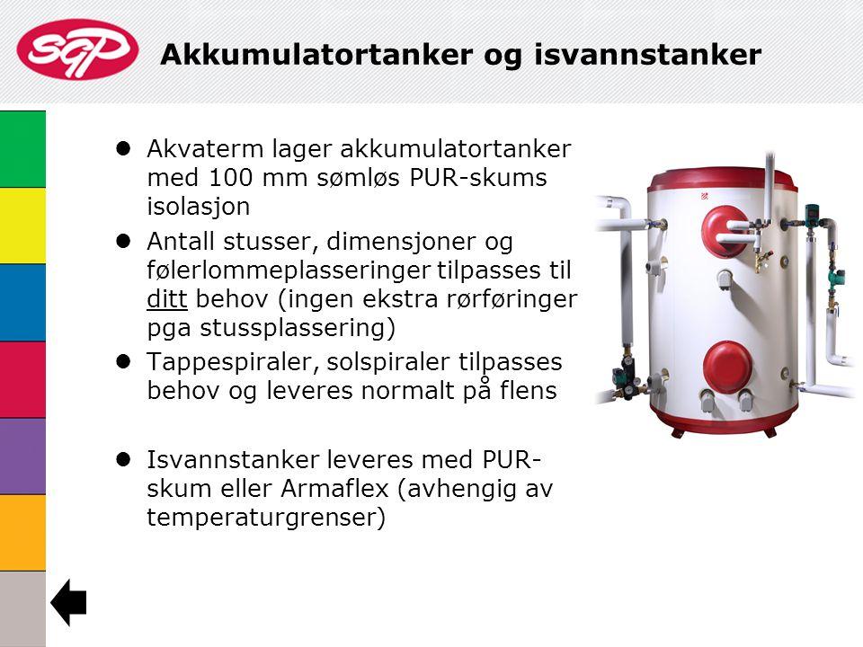 Akkumulatortanker og isvannstanker