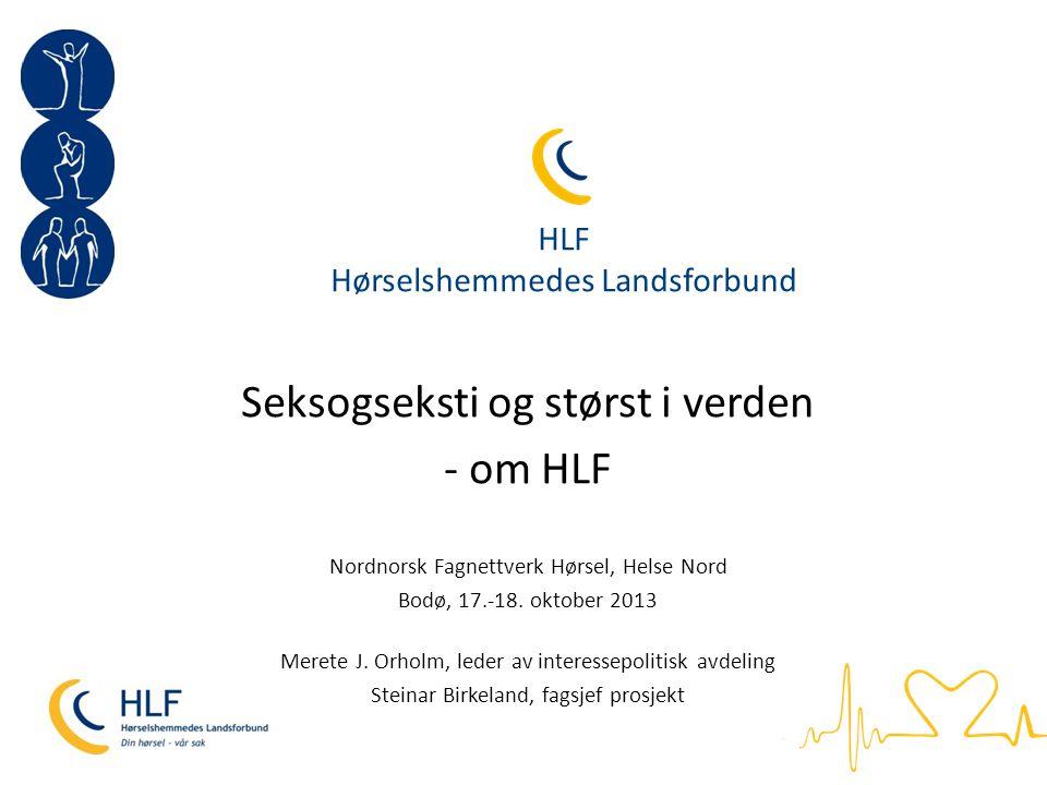 HLF Hørselshemmedes Landsforbund
