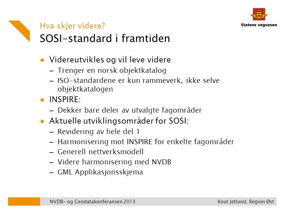 SOSI-standard i framtiden