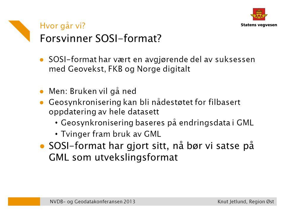Forsvinner SOSI-format