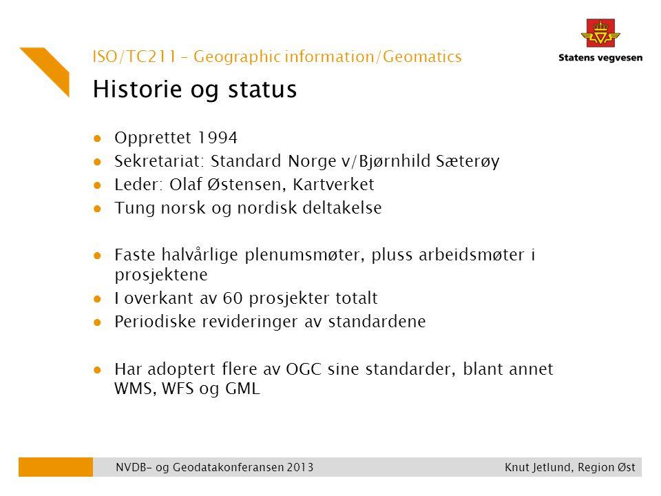 Historie og status Opprettet 1994